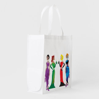Bolsos reutilizables de la noche de las señoras bolsa de la compra