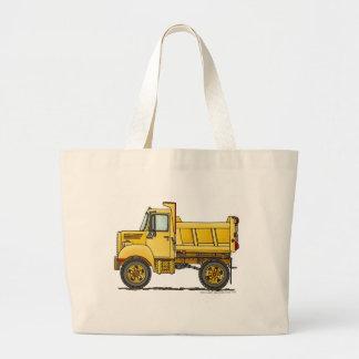 Bolsos/totes de la construcción del camión volquet bolsa tela grande