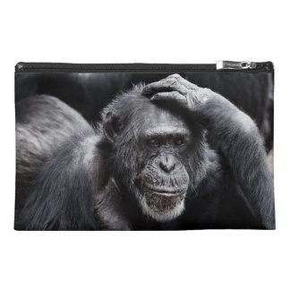 Bolsos viejos del accesorio del chimpancé