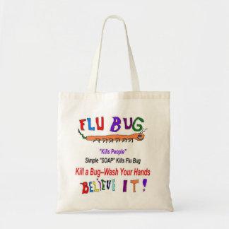 Bolsos y totes epidémicos del insecto de la gripe bolsa