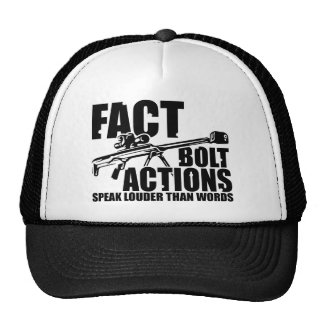Bolt Actions Speak Louder Than Words - SMT Trucker Hat