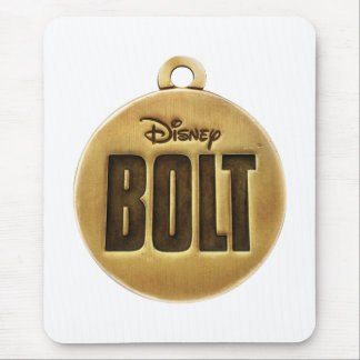 Bolt dog tag Disney Mouse Pad