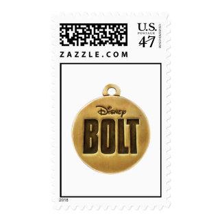 Bolt dog tag Disney Postage Stamp