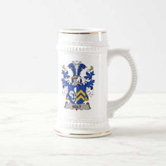 Bolt Family Crest Coffee Mugs