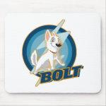 Bolt Logo Disney Mouse Pads
