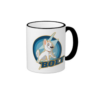 Bolt Logo Disney Coffee Mugs