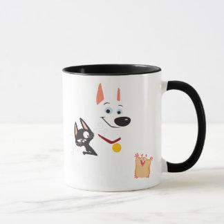 Bolt, Mittens and Rhino Disney Mug