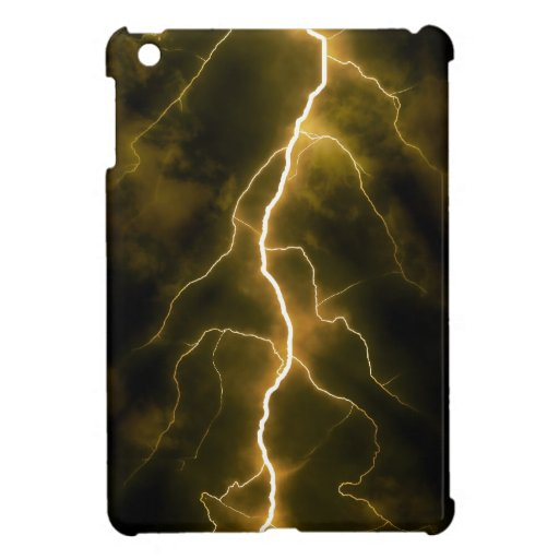 Bolt of Lightening iPad Mini Covers