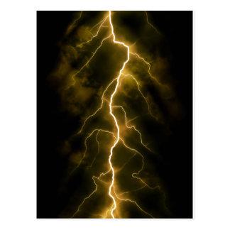 Bolt of Lightening Postcard