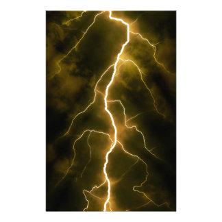 Bolt of Lightening Stationery