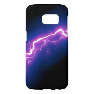 Bolt of Purple Lightning Samsung Galaxy S7 Case