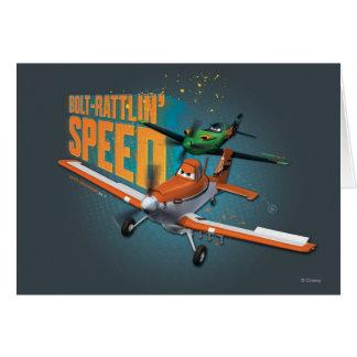 Bolt-Rattlin' Speed Greeting Card