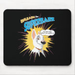 "Bolt ""unleash the superbark"" thought bubble Disney Mouse Pad"