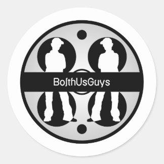 BolthUsGuys Logo02 Classic Round Sticker