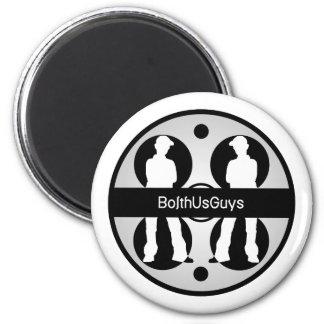 BolthUsGuys Logo02 Imán Redondo 5 Cm