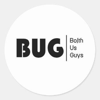 BolthUsGuys Logo03 Classic Round Sticker