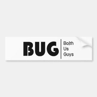 BolthUsGuys Logo03 Pegatina Para Auto