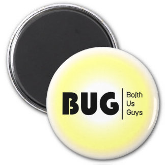BolthUsGuys Logo04 2 Inch Round Magnet