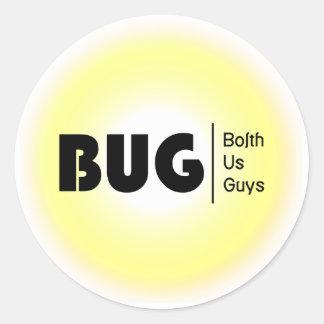 BolthUsGuys Logo04 Classic Round Sticker