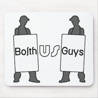 BolthUsGuys Logo Mouse Pad