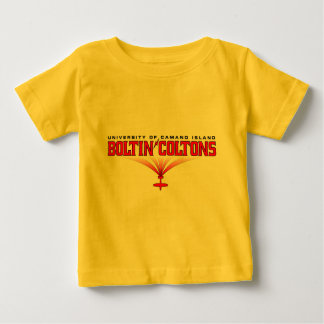 Boltin' Coltons Athletic Merchandise Baby T-Shirt
