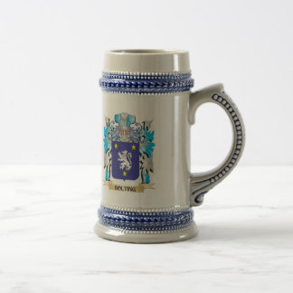 Bolting Coat of Arms Coffee Mugs