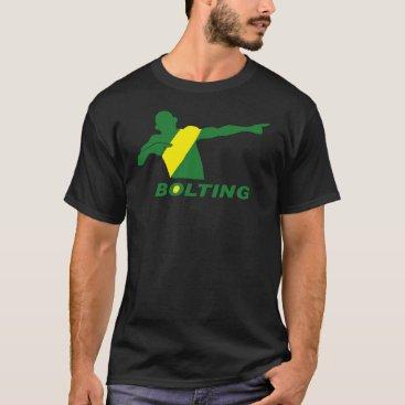 Christmas Themed BOLTING Jamaica T-Shirt