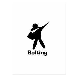 Bolting Postcard