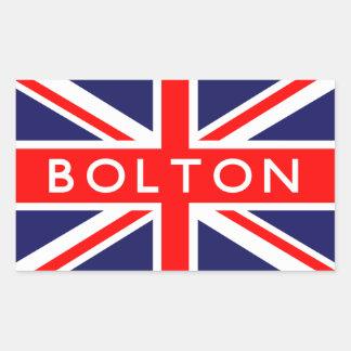 Bolton : British Flag Sticker