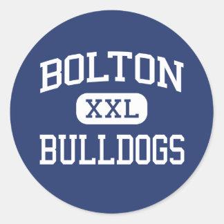 Bolton - Bulldogs - High - Bolton Connecticut Stickers