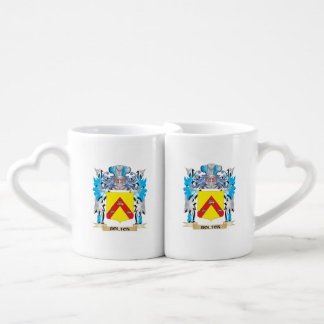 Bolton Coat of Arms Lovers Mugs