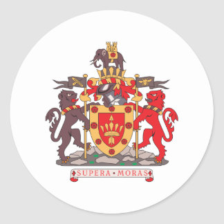 Bolton Coat Of Arms Stickers