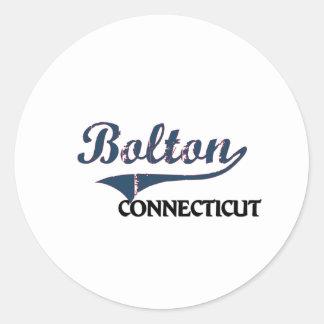 Bolton Connecticut City Classic Sticker