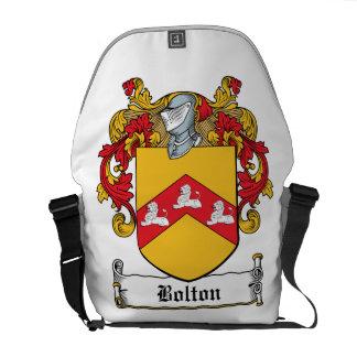 Bolton Family Crest Messenger Bags