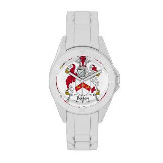 Bolton Family Crest Wristwatch