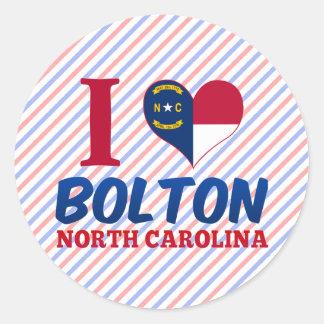 Bolton, North Carolina Round Sticker