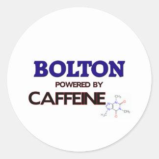 Bolton powered by caffeine sticker