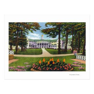 Bolton que aterriza la vista exterior del hotel de tarjetas postales