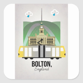 Bolton Square Sticker