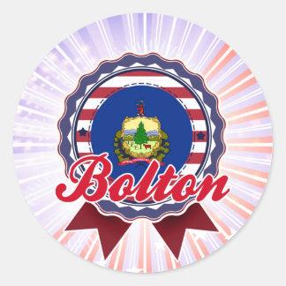 Bolton, VT Stickers