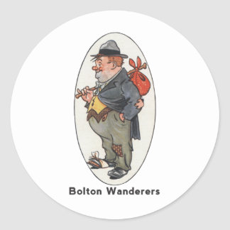 Bolton Wanderers Football Club Classic Round Sticker