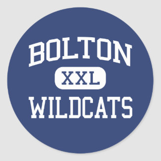 Bolton - Wildcats - High - Arlington Tennessee Round Stickers