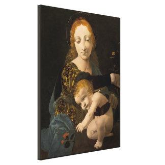 Boltraffio Madonna del CC0334 color de rosa XL Impresión En Lienzo