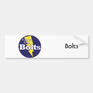 Bolts Car Bumper Sticker