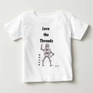 Bolts - Love the Threads Baby T-Shirt