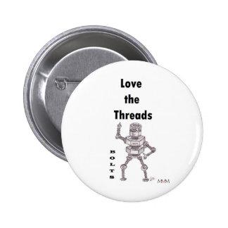 Bolts - Love the Threads Pins