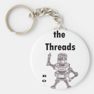 Bolts - Love the Threads Keychain