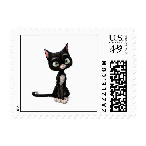 Bolt's Mittens Disney Postage Stamp