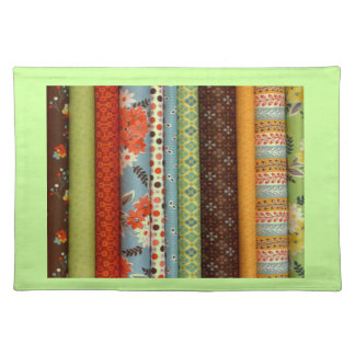 Bolts of fabric pretty cotton designs place mats