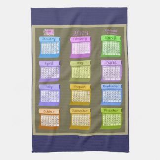 Bolts of Fabric tea kitchen towel 2013